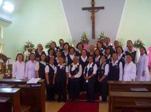 Para Kerabat SPM bersama Sr. Felisita dan DPP SPM Provindo
