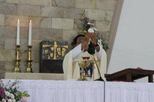 Perayaan Ekaristi sebagai sumber kekuatan iman dan panggilan.