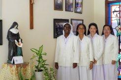 Para Suster DPU yang setia menemani proses perjalanan Kapitel Provindo