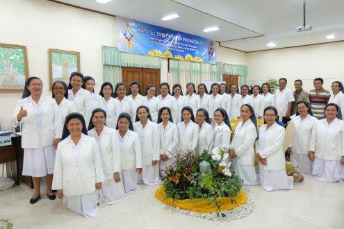 para suster anggota Kapitel Provindo 2016 bersama para pembimbing