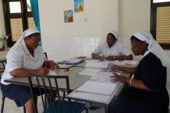 Suasana diskusi pengurus Regio Malawi