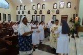 Tarian persembahan Misa Penutup
